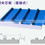 EPS, PU,mineral wool, glass wool Sandwich panel for portable building