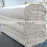 soft handfeel natural 100% cotton greige fabric