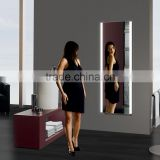 Best gift for lady full length wall mirror with light illuminated , dressing mirror with led lights