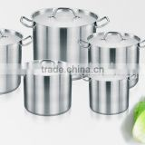6Pcs Stainless Steel Casserole prestige induction hot pot