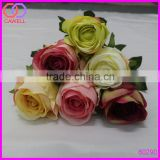 multi color long stem flower artificial silk roses