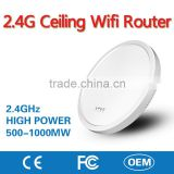 2.4G Wireless Ceiling Mobile Wifi Router Network Access Point AP with Inner Antenna for Hotel Restaurant