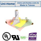RoHS complied flexible silicone coated Fiberglass insulation sheet roll for electric insolution