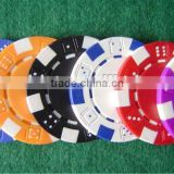 Attrictive price dice poker chip without numbers