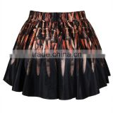 Skirts Fashion 2015 Women's Digital Print Sword Mini Skirt N13-27