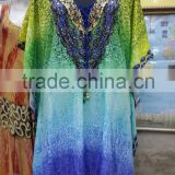 Digitally Printed Embellished Kaftan