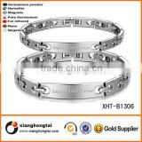 Bio Health Energy Magnetic Titanium Bracelet With Germanium Powder
