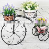Europe style bicycle flower stands/ flower pot stand/ flower display stand