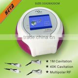 Heta H-2013A RF fat burning face slimming machine body slimming fitness devices rf home care machine
