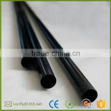 china factory hollow carbon fiber round tube/ twill tabby carbon fibre tube 10mm/ custom carbon fiber tube fittings