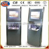 Bar restaurant airport shopping mall casino mobile cell phone charging station with locker