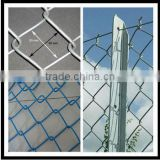 Expanded Mesh Type and Square Hole Shape Cheap Chain link fencing / malla de alambre de diamante,valla