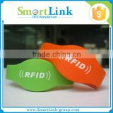 cheap NFC Paper and silicone Wristband one time use rfid bracelet for check in-out access control