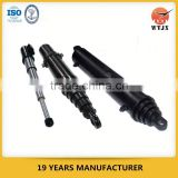 multistage telescopic hydraulic cylinders / telescopic jacks / telescopic rams for tipper trucks or trailers