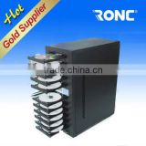 Hot Selling 1 for 11 trays dvd Duplicator copy Machine