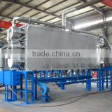rice husk carbon production equipment of carbonization furnace kiln price in China