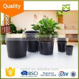 china supplier cheapest 2017 pp gallon plastic flower pots,black nursery pot