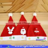 Christmas hat 2016 Santa Claus Christmas Decoration Hat Red And White Party Hats Holiday