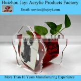 Jayi China export plastic fish tank wholesale coffee table fish tank with paper frame