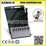 HHS Good Quality Wood Brad Point Wood Drill Bit Set for Wood