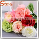 Hot sale cheap wholesale artificial flowers/ fake flower rose