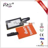 Travel Luggage Baggage for lady and men Backpack ID Tag Holder Suitcase Name Tag Labels PVC