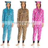 Adult outdoor onesie Women's Comfy Colorful Cute Cozy Plush sherpa fleece Adult onesie pajamas With drop seat
