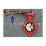 Pneumatic actuator butterfly valves , high performance lug style butterfly valve for water
