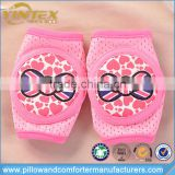 Heart warm print cute baby & kids knee pads for crawling safety protector with good quality
