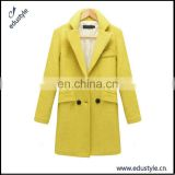 2017 Fashion Mature Long Design Ladies Coat For Winter