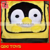 children plush penguin backpack