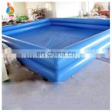 Double layer swimming inflatable pools for adults