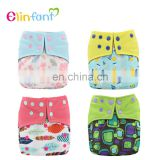 Elinfant Hot Sale Cloth Diaper Bamboo Charcoal Pocket Diaper reusable fashion baby cloth diaper