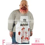 The Family Butcher Apron scary party cosplay adult apron costume halloween clothes costume