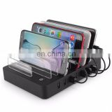 For Apple laptop computer stand 6/8 ports USB charging stand watch stand charging holder for apple smartphone