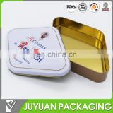 Professional tin box factory for custom decorative printed or shaped tin box for cookies