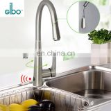 New durable ceramic automatic pull out cupc kitchen faucet