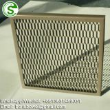 Aluminum expanded mesh for bull bar of trucks