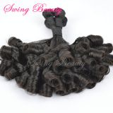 100% Natural Remy Human Hair Weaving Bundles Extensions Fumi Curly