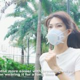Reusable silicon mask KN95