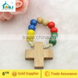 A&J Catholic Wood Finger Rosary Rings