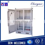 Telecom battery cabinet SK-419/outdoor battery enclosure with 2 doors and heat exchanger/IP55 waterproof
