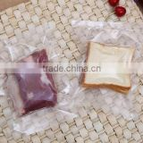 customized size and printing Transparent Food Vacuum Seal Bags Packaging For Food