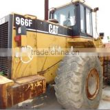 secondhand wheel loader Cater 966F / original chinese loader in shanghai