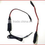 NEW Male to Female Gender Cigarette plug with 18AWG 2C Cable OF Cable Assembly