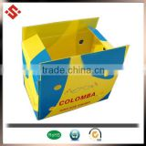 2014 custom colored pp coroplast shipping boxes