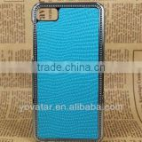 Factory price snake skin leather case cover for blackberry z10