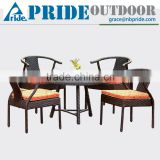 Chinese Style Outdoor No Folded Sell High Quality Modern PE Garden Cheap Vintage Rattan Furniture