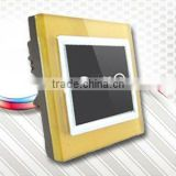 Brushed Metal Touch Screen Wall Switch