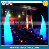 Romantic Christams inflatable lighting decoration inflatable candle for event decoration,party supply                                                                         Quality Choice